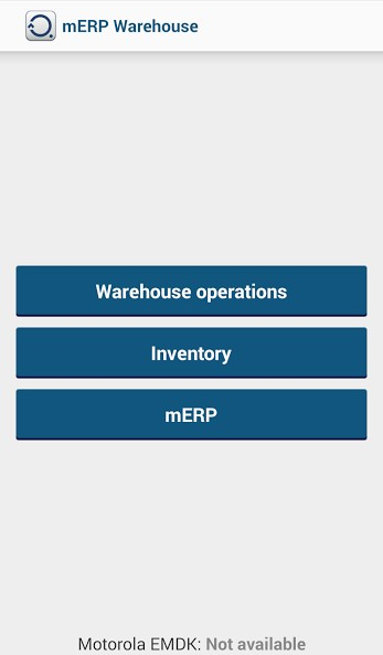 mERP Warehouse 1