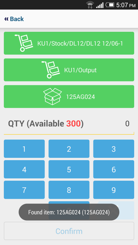 mERP Odoo warehouse mobile 8