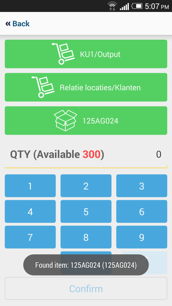 mERP Odoo warehouse mobile