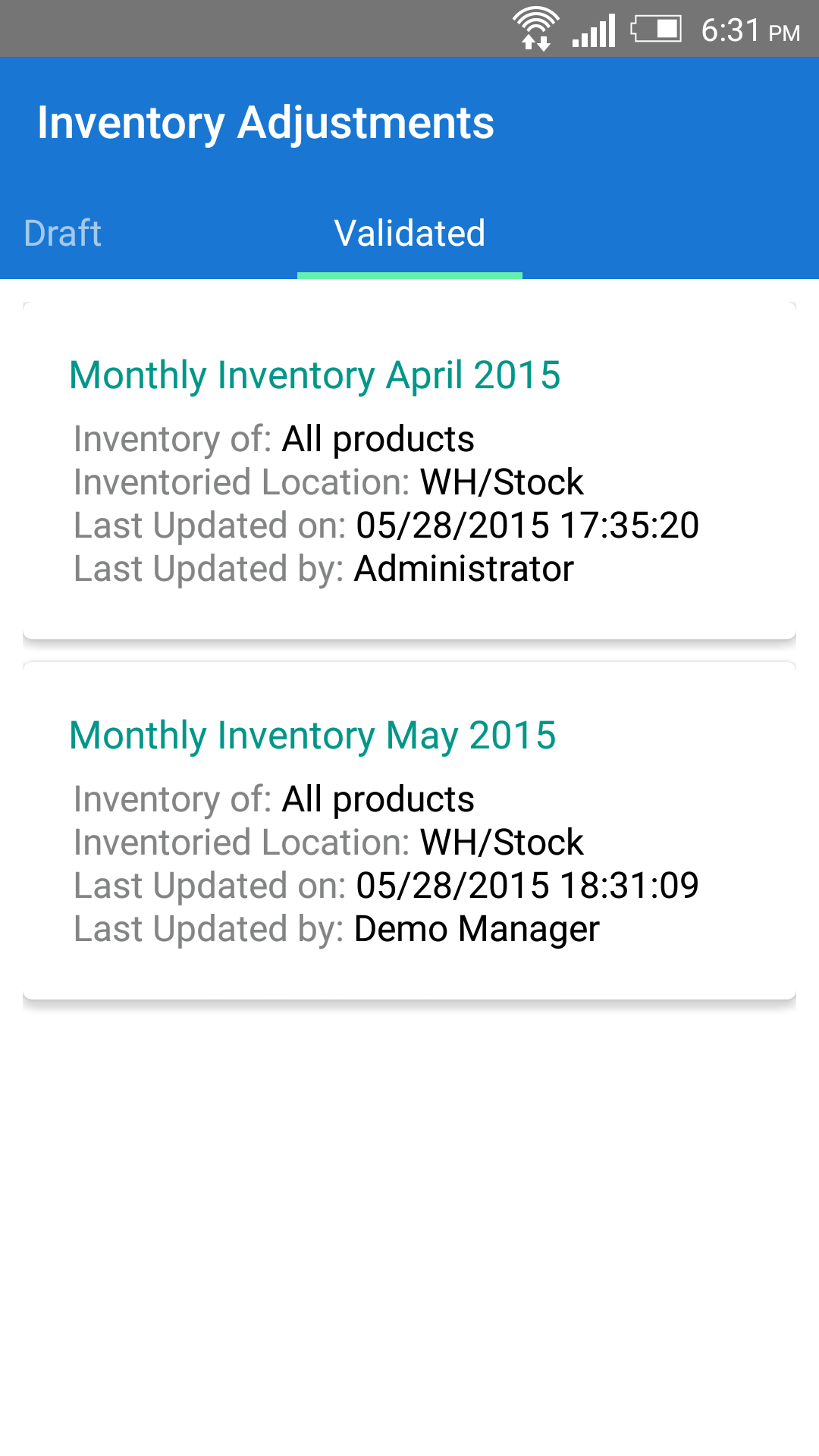mERP_Warehouse_Inventory