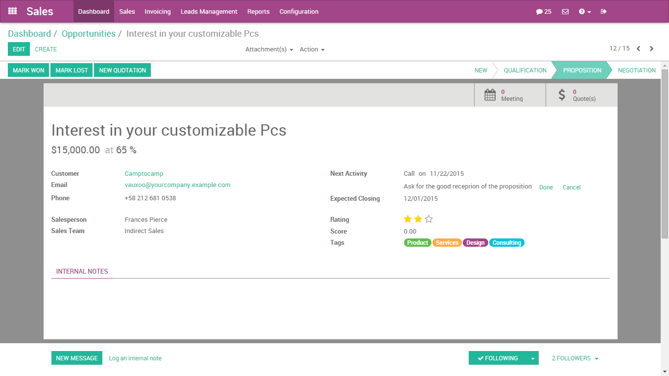 Odoo9EnterpriseCRM